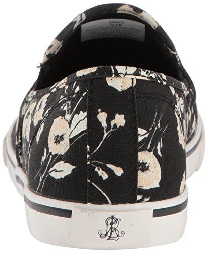 Lauren Av Ralph Lauren Kvinners Janis-sk-vlc Sneaker Rosa / Vanilje
