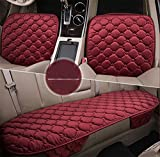 YAOHAOHAO Universal passenger compartment comfortable seat cushion cover pad mat for car accessories-3-PC