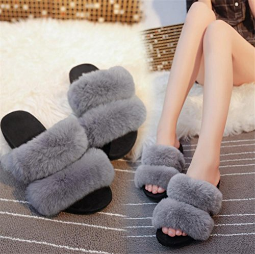 Slip Pantofole Inverno Donna Peluche Autunno Da Calde Casual 37 Pantofole 1 Bq6gwBr