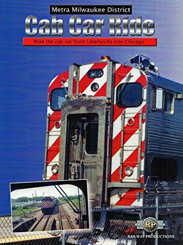Metra Milwaukee District Cab Car Ride - Metra Line