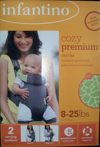 Infantino Cozy Premium Carrier 8 - 25lbs.
