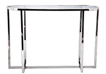 Consolle 30 Cm.Casa Padrino Living Room Console Table Silver 100 X 30 X H