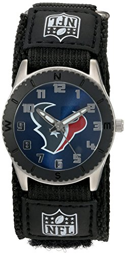 "Game Time Unisex NFL-ROB-HOU ""Rookie Black"" Watch - Houston Texans"