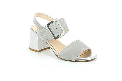 comprare on line bd5b9 9daa0 Grunland SA1682 Mali Sandalo Donna P. Grigio 41: Amazon.co ...