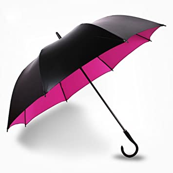 mdrw-fashion paraguas sol pequeño negro paraguas al aire libre Paraguas UV Super Vinilo Sol