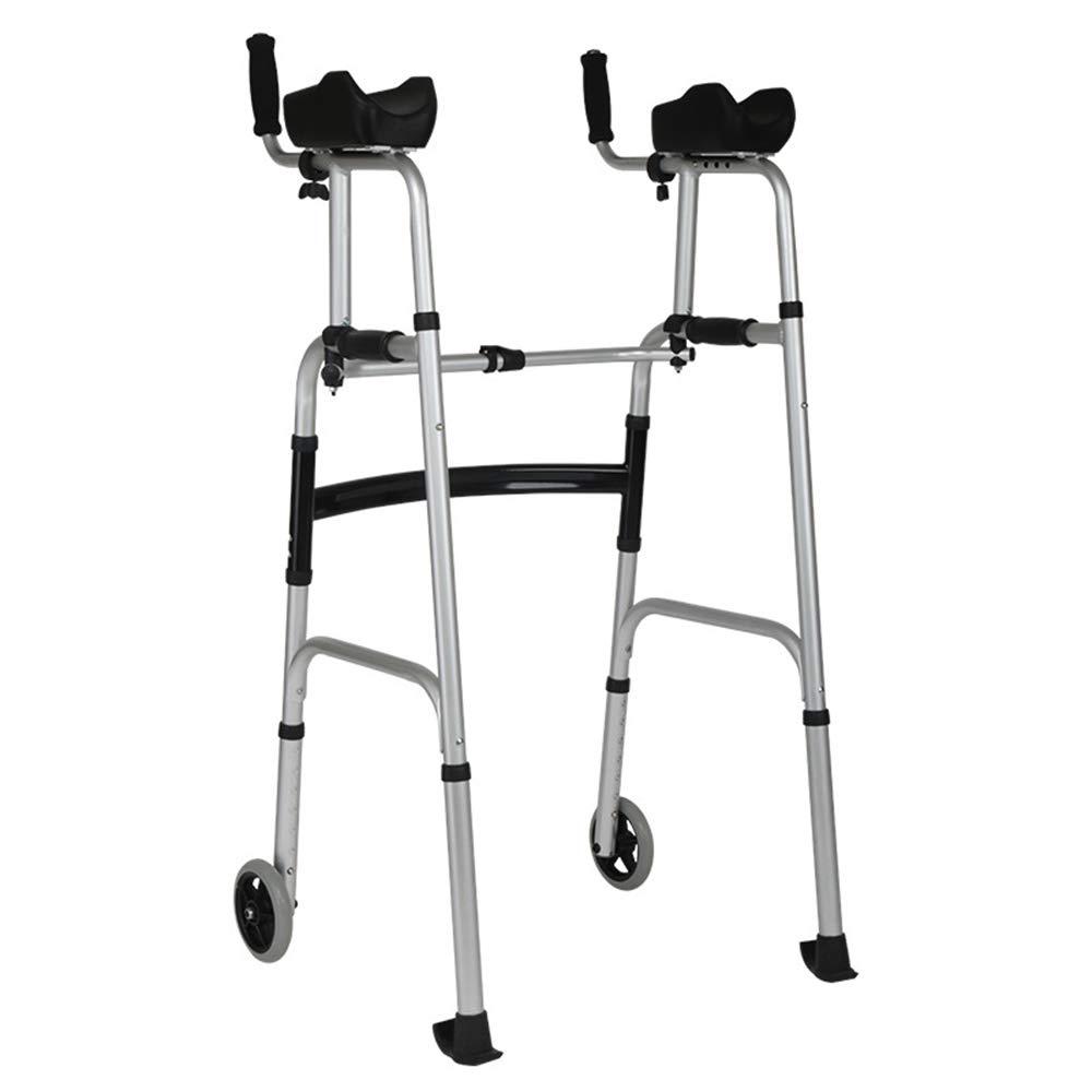 XXHDEE Disabled Four-Legged Cane Without Folding Walker Walker Handrail Walker Elderly Walker Walking aids by XXHDEE