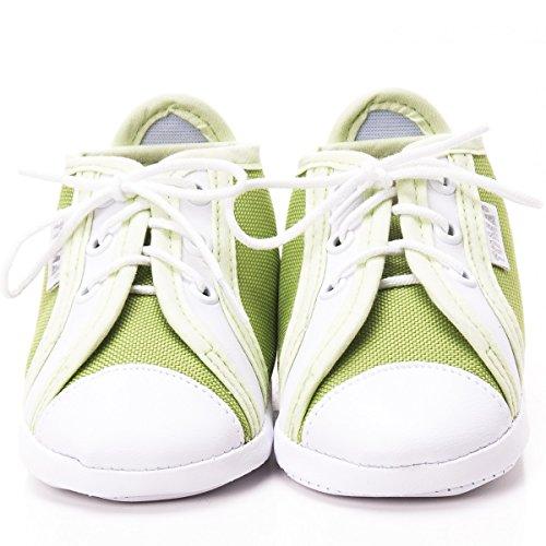 Toma - Patucos de raso para niño Green