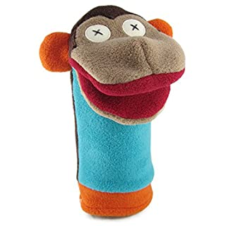 Cate & Levi - Fleece Hand Puppet - Handmade in Canada - Great for Storytelling (Monkey)