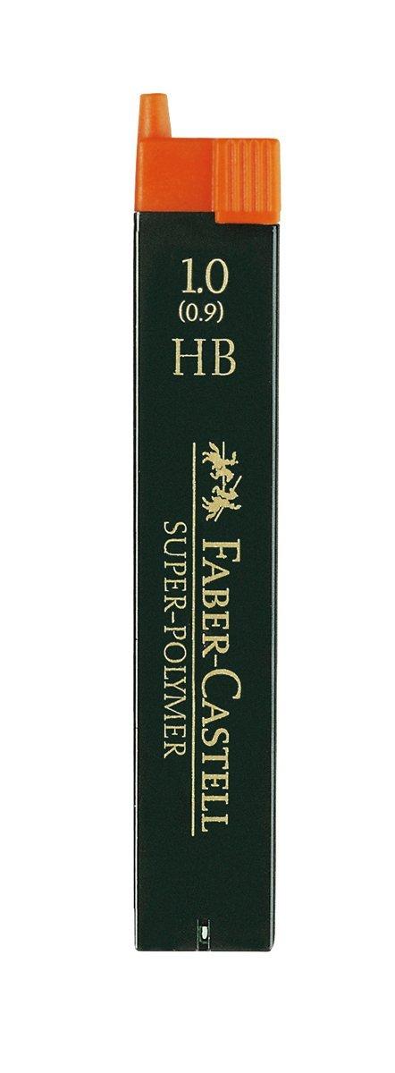 12 Minas Faber Castell 1.0 Mm Hb (12 Unidades)