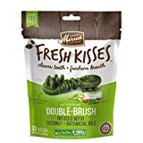 Merrick Fresh Kisses Coconut Oil + Botanicals Extra Small Brush Dental Dog Treat  - Medium Bag (33 Ct) Larger Image