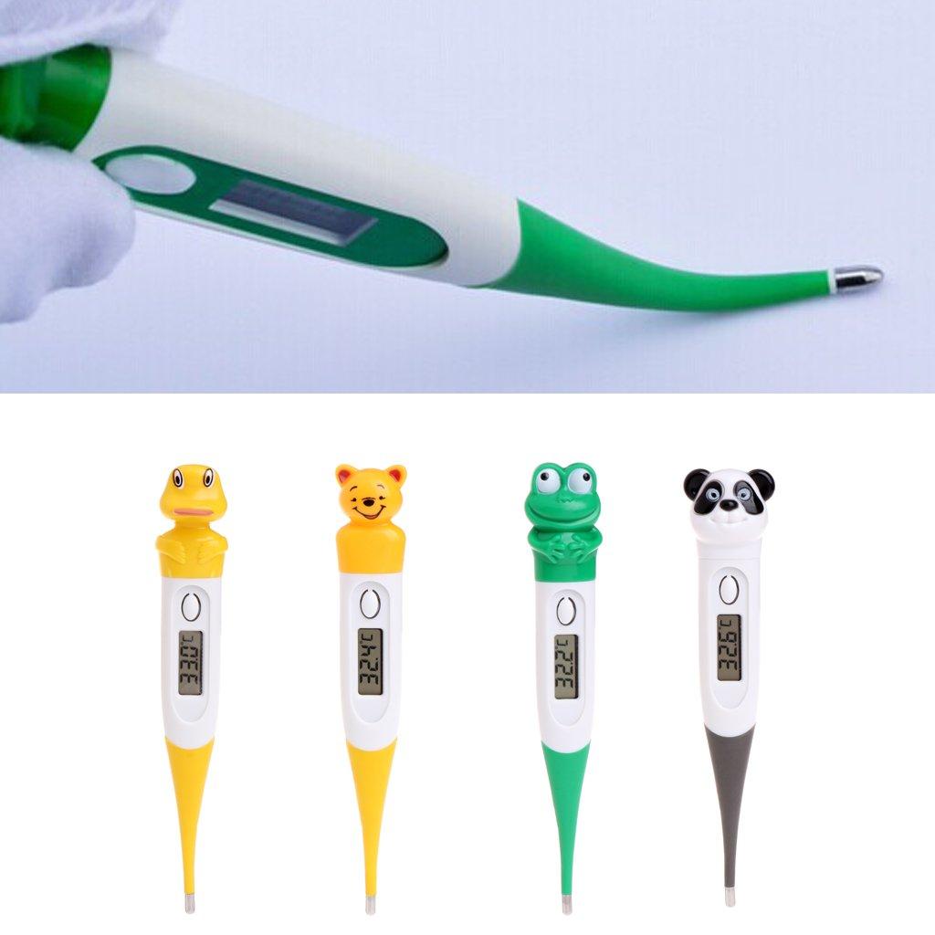 Rectale et Sous les Aisselles Thermometre Numerique /électronique Design Anim/é pour B/éb/é Enfant Adulte pour Bouche Canard