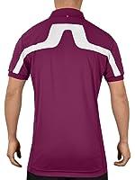 J. Lindeberg Mens Regular Fit KV TX Jersey Logo Golf Polo Shirt