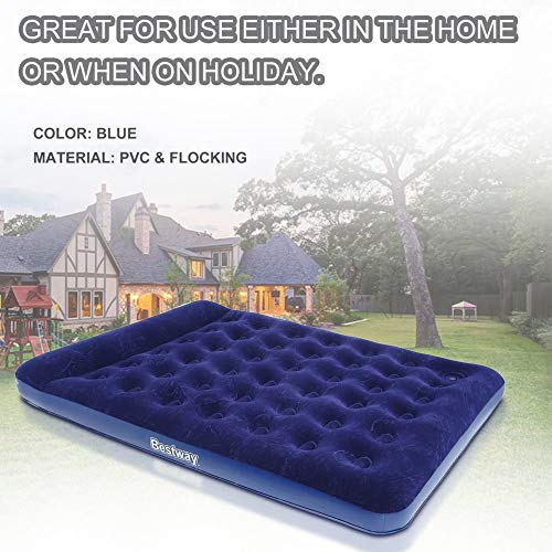 Ensteinberge 2 Persons Large Size Air Moistureproof Camping Mats Inflatable Air Bed Outdoor Picnic Beach Mattress Sleeping Mats with Pump by Ensteinberge (Image #5)