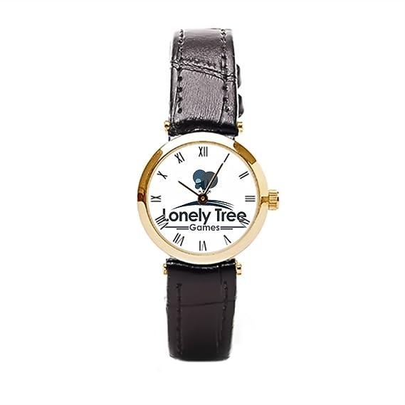 aromar Árbol solitario juegos estándar piel reloj Mujer Piel Reloj Niñas Adultos Niños Reloj Correa de piel: Amazon.es: Relojes
