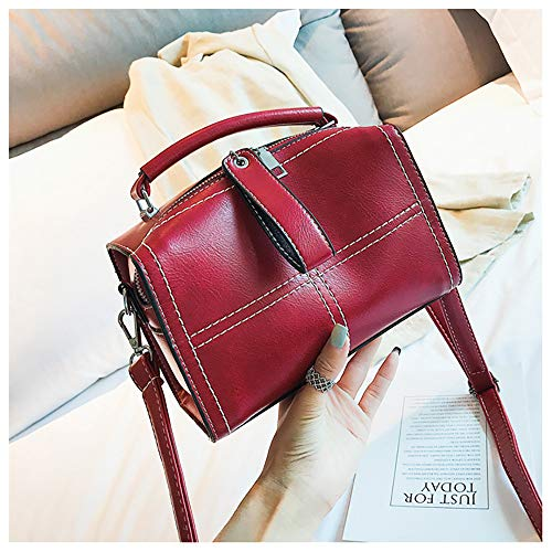Cloth Nylon En Sacs Sanfashion Rouge Dos Femme Main Ladies Sac Casual À Oxford Y0qwqpAz