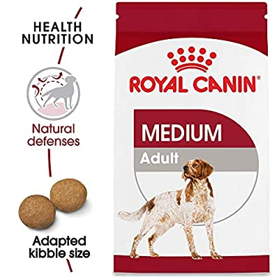 Royal Canin Size Health Nutrition Medium Adult Dry Dog Food by Animal Supply Company (RC)
