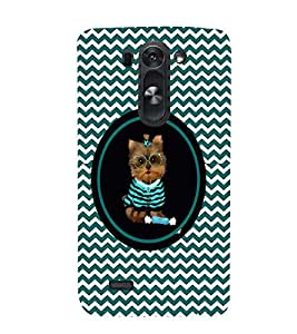 PRINTVISA Cute Cat Case Cover for LG G3 MINI