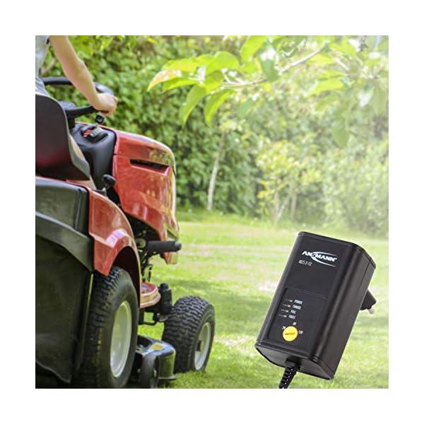 51tJR2JCVkL ANSMANN Batterie Ladegerät 2V/6V/12V mit Erhaltungsladung zum Einlagern von Blei Akkus (Gel, Wet, MF, VRLA, AGM) für…