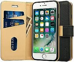 Labato iphone xs ケース 手帳型 軽量 iphone x ケース 手帳型 人気 アイフォンxs ケース カード収納 スタンド 耐衝撃 手作り スマホケース (iPhone X/iphone XS, ブラック)