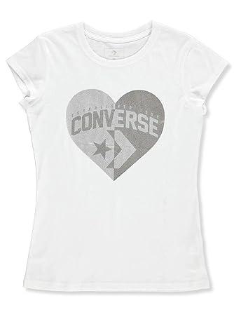 154172bd05f9 Amazon.com  Converse Girls  T-Shirt  Clothing