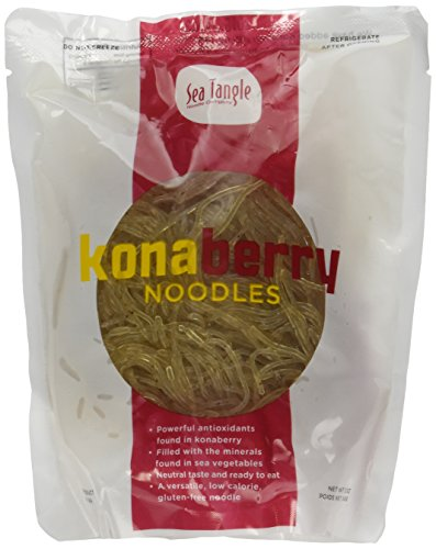Konaberry Kelp Noodles Raw Seaweed Noodles Infused With Konaberry For Added Antioxidants!