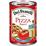 Dei Fratelli Pizza Sauce – All Natural – No Water Added – Never from Tomato Paste – 5th Generation Recipe (15 oz. cans; 12 pack)
