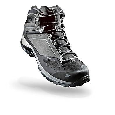 eac787b68 Quechua MH 500 Men s MID Waterproof Mountain Hiking Boots - Grey (EU ...