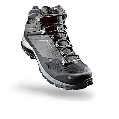 844984d0a2a Quechua MH 500 Men s MID Waterproof Mountain Hiking Boots - Grey (EU ...