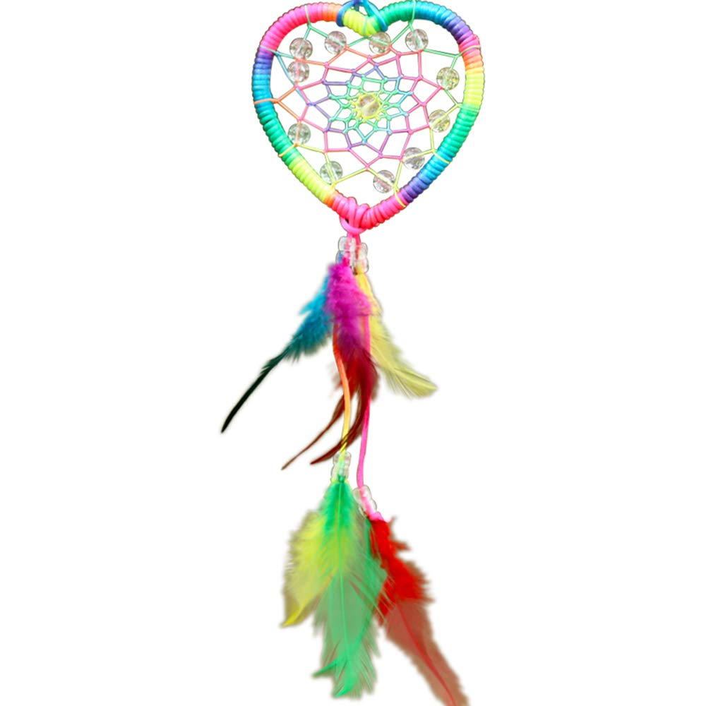 Dreamcatchers ,Indian Dream Catcher Wind Chimes Feather Pendant Wall Hanging Home Decoration Silutong