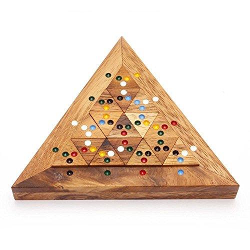 Handmade Puzzle Bermuda Triangle: Handmade & Organic Tiling Sliding Handmade Wooden Puzzles for -