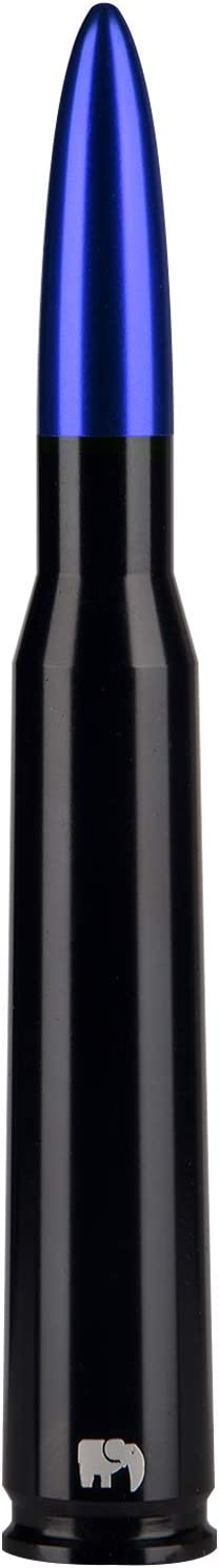 Avalanche 2003-2020 Colorado 50 Cal Caliber Bullet Style Antenna for Chevy Black - Designed for Optimized FM//AM Reception 2007-2019 Silverado 2002-2013 2003-2017 Equinox