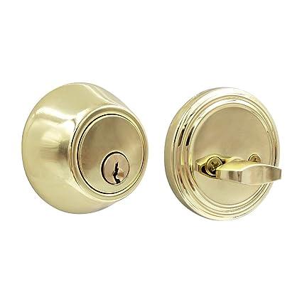 Amazon.com: Perno cilíndrico para puerta de acero inoxidable ...