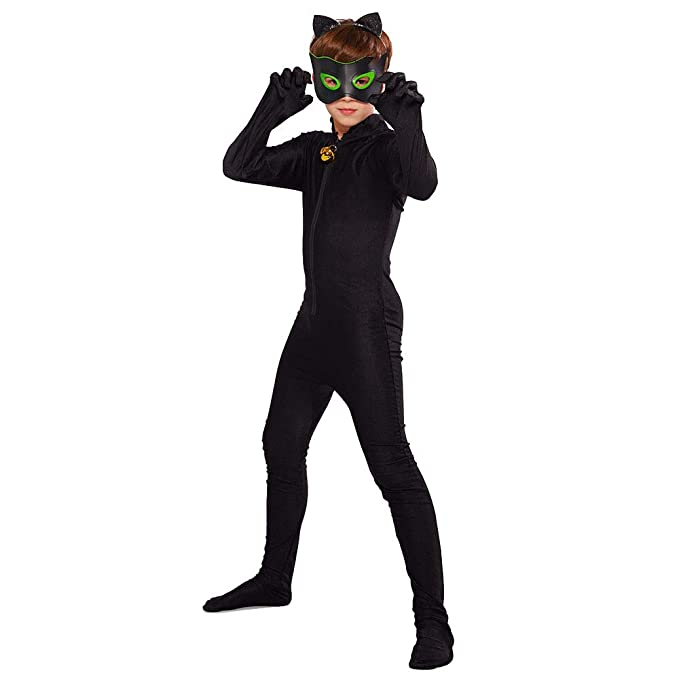 URAQT Disfraces de Carnaval Lady Bug, Disfraz de Cat Noir ...