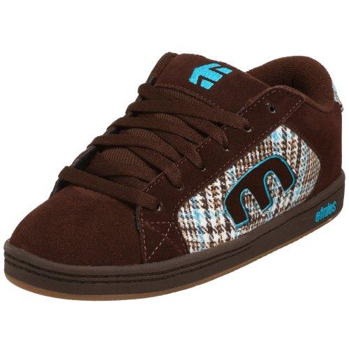 (Etnies Little Kid/Big Kid Digit Sneaker,Brown/Blue/Gum,10 M US Toddler)