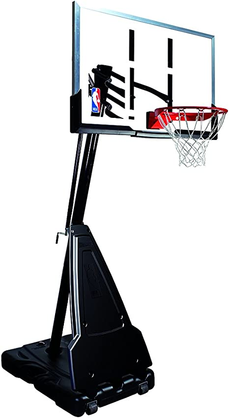 Spalding NBA – Canasta de Baloncesto portátil con Poste Sistema ...