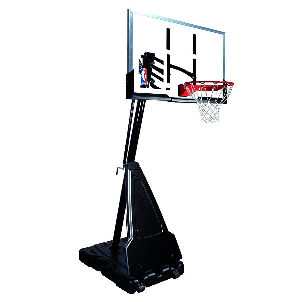 Spalding NBA - Canasta de Baloncesto portátil con Poste Sistema ...
