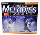 Classical Music : Most Beautiful Melodies of Classical Music, 10-CD Box Set