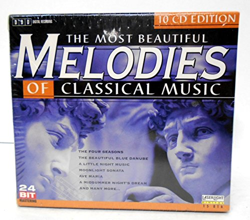 Most Beautiful Melodies of Classical Music, 10-CD Box - Collection Bach