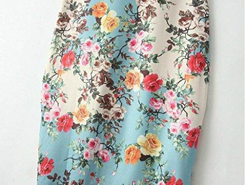 vestidos de mujer,Switchali Mujer verano Moda Floral Impreso Sin mangas Vendimia Casual Mini Vestido de lápiz atractivo Fiesta Nocturna Vestir ropa nuevo 2017 barato