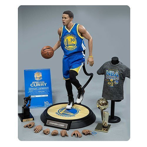 NBA Stephen Curry 1:6 Scale Real Masterpiece Action Figure by NBA by Enterbay