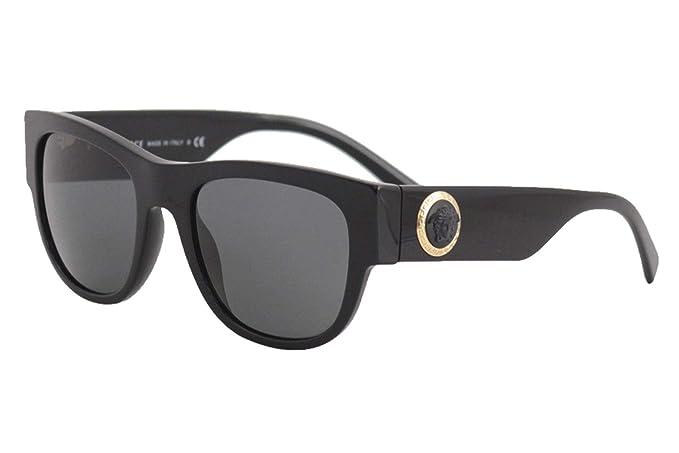 Amazon.com: Versace Acetate - Gafas de sol para hombre ...