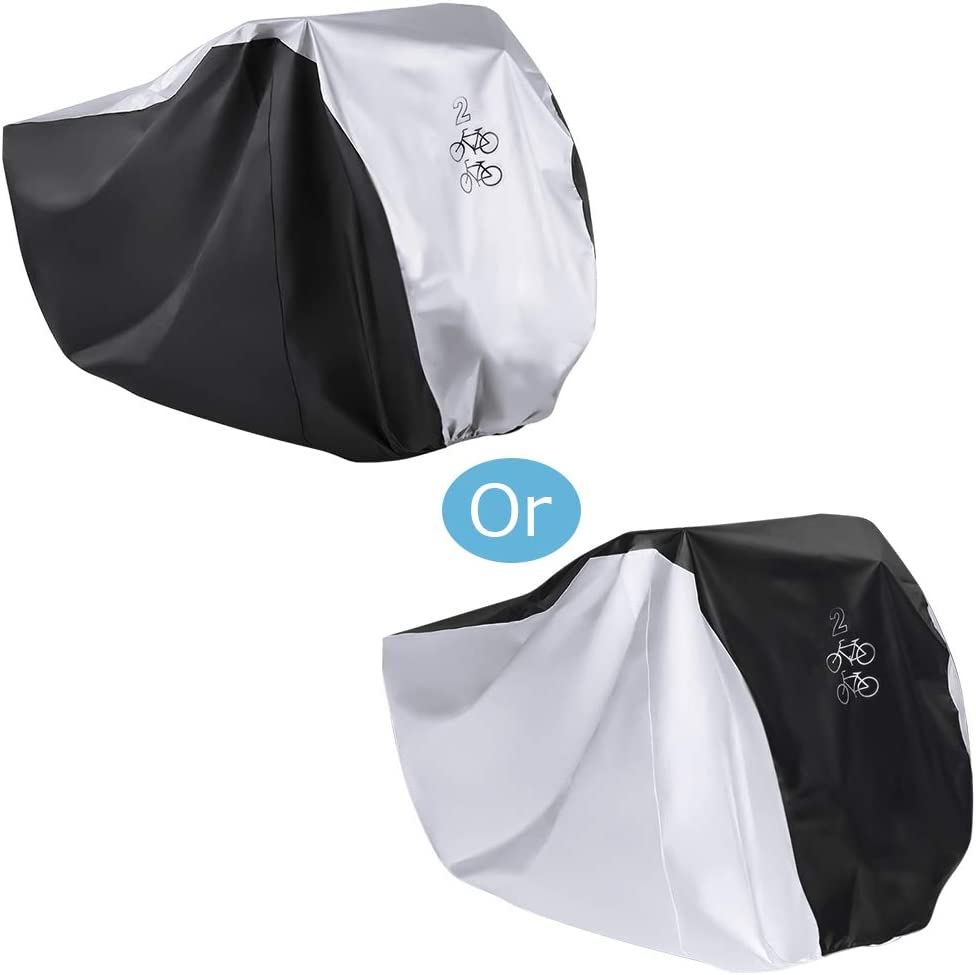 Waterproof Bicycle Cover Cycling Rain /& Dust Protector Cover UV Protection