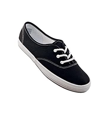 7ff3bc8dc Aris Allen Women's Black on White Classic Canvas Dance Sneakers -  CLEARANCE, ...