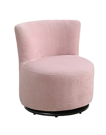 Amazon.com: Monarch Fuzzy Fabric Juvenile Chair, Pink: Kitchen & Dining