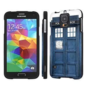 NakedShield Samsung Galaxy S5 S 5 (Blue Phone Box) Total Hard Armor LifeStyle Phone Case