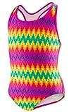 Speedo® Girls' 1-piece Swimsuit - Genie Geo (14, Multi)