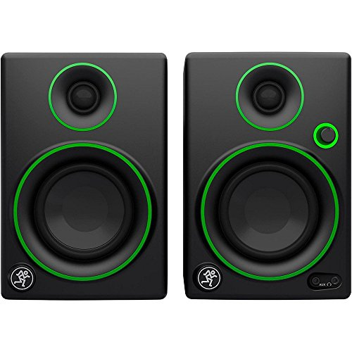 Mackie Studio Monitor, Black w/green trim, 3-inch (CR3)
