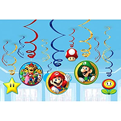 Amscan Super Mario Decoration Pack Kit: Kitchen & Dining