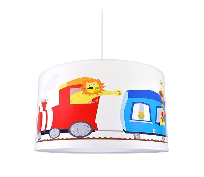 Lámpara infantil es ZOO colgante 1xE2760W230VAmazon Y7I6vgfymb