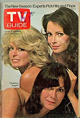 1976 TV Guide Sep 25 Charlies Angels - Kentucky Edition NO MAILING LABEL Very Good to Excellent (4 out of 10) Used Cond. by Mickeys Pubs